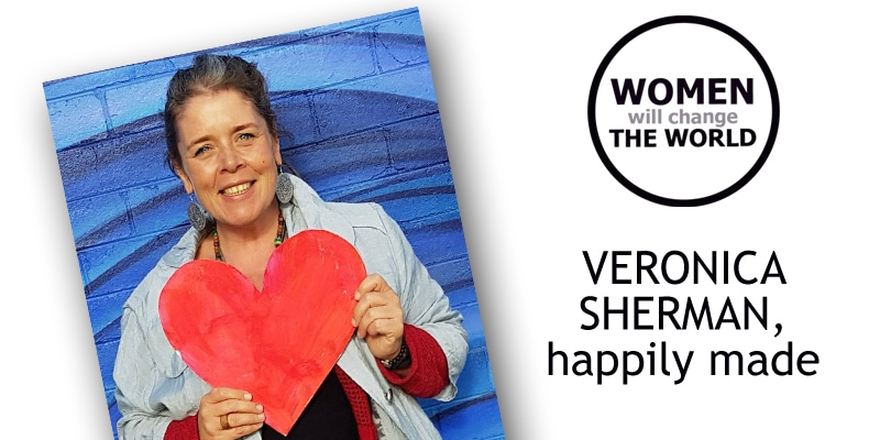 Women will change the world: Veronica Sherman {video}