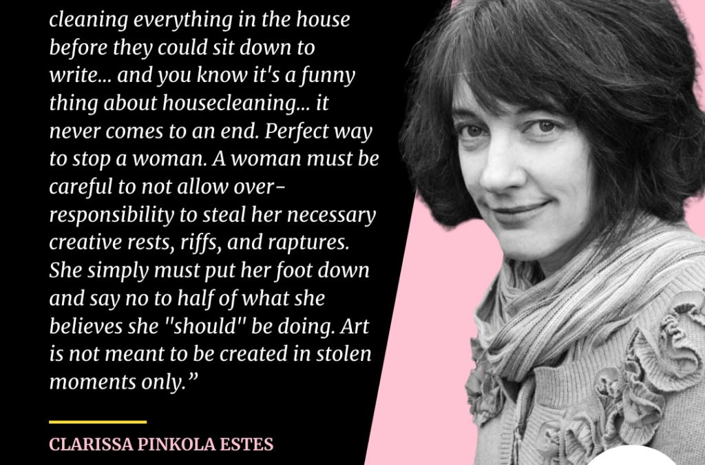 Claudia Pinkola Estes #whatshesaid